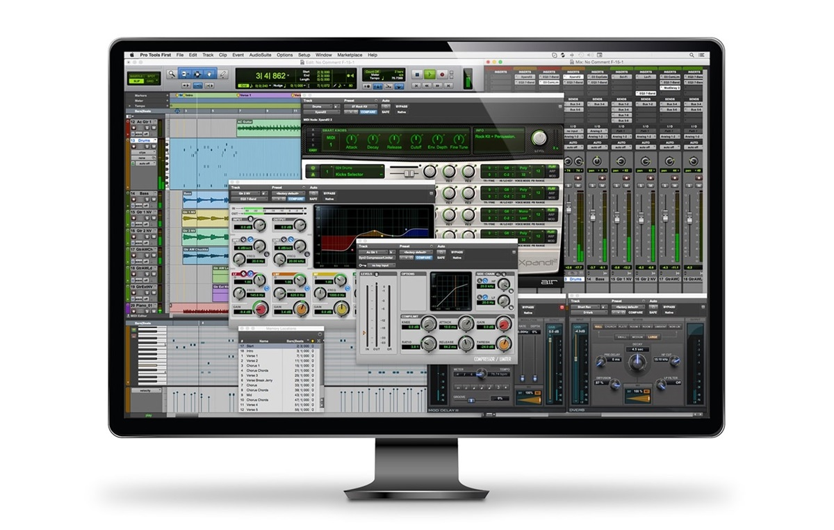 Pro Tools First free sequencer   daw by Avid