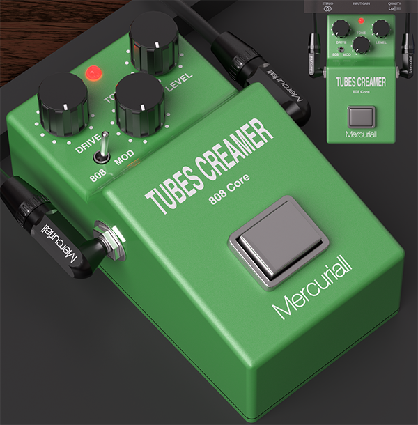 TSC 808 Core free saturation | overdrive by Mercuriall Audio Software