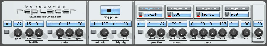 replacer free drum-sampler | audio-to-midi by Boxsounds