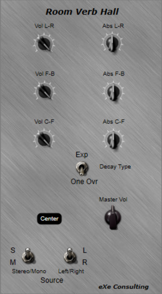 roomconvp free reverb by EXE Consulting