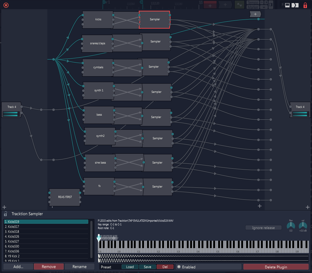 Lay-It Sampler Template free soundbank by Lay-It Productions