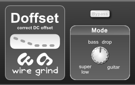 Doffset free dc-offset by Wire Grind
