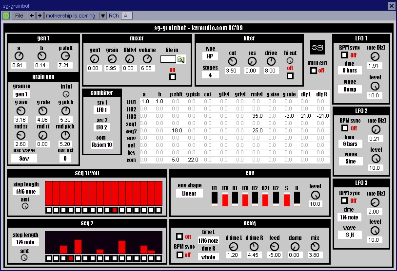 sg-grainbot free software-synthesizer by Synthgeek