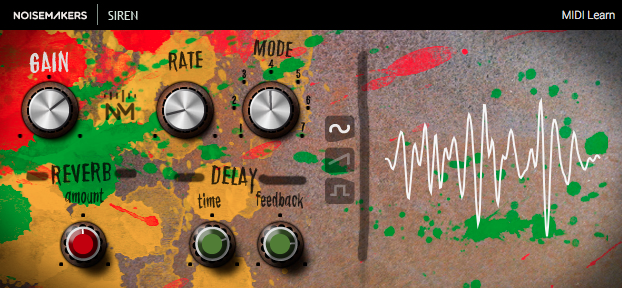Siren free software-synthesizer by Noise Makers
