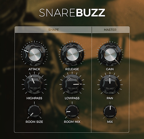 SnareBuzz free software-synthesizer by Wavesfactory