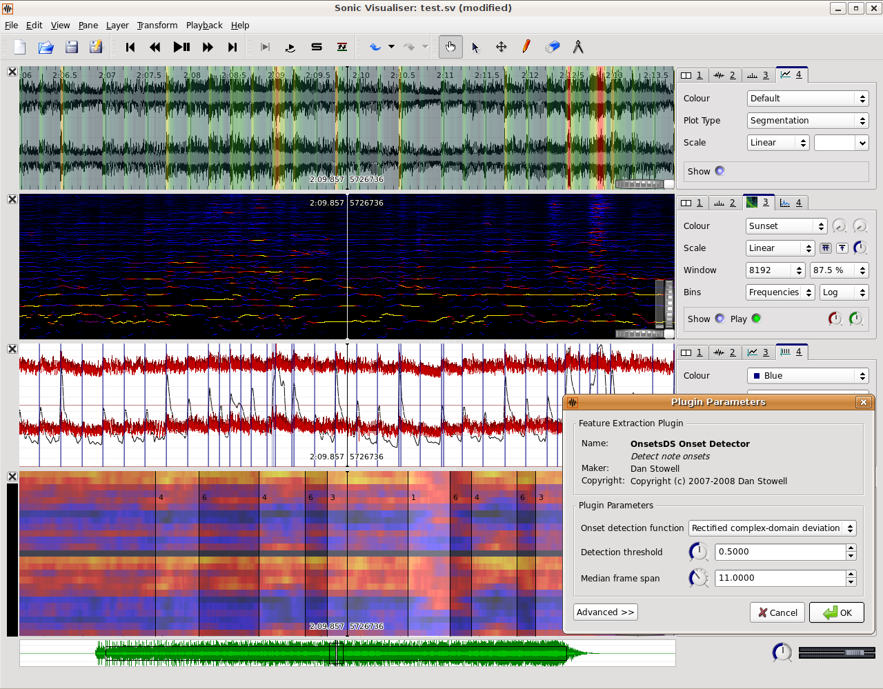 Sonic Visualiser free spectrum-analyzer by Centre for Digital Music at Queen Mary