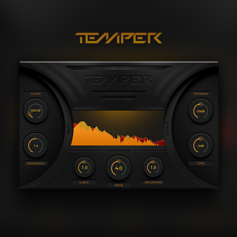 Temper free distortion by Creative Intent