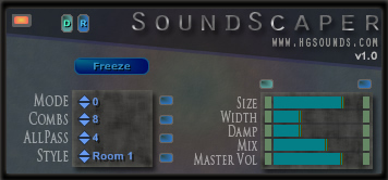 SoundScaper free multi-fx | delay | echo | vocoder by Homegrown Sounds