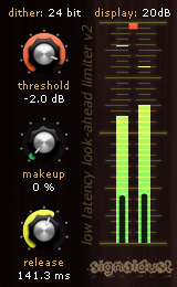 4L2 free limiter | dither by Signaldust