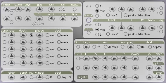 Steam free software-synthesizer by xoxos
