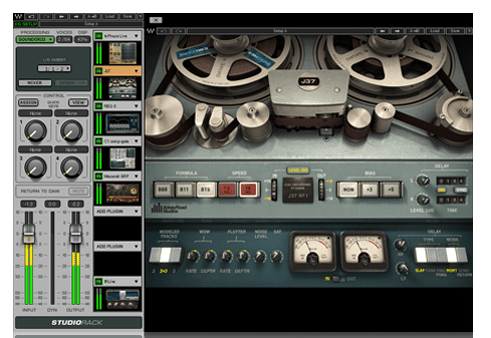 StudioRack Plugin Chainer free routing | wrapper by Waves