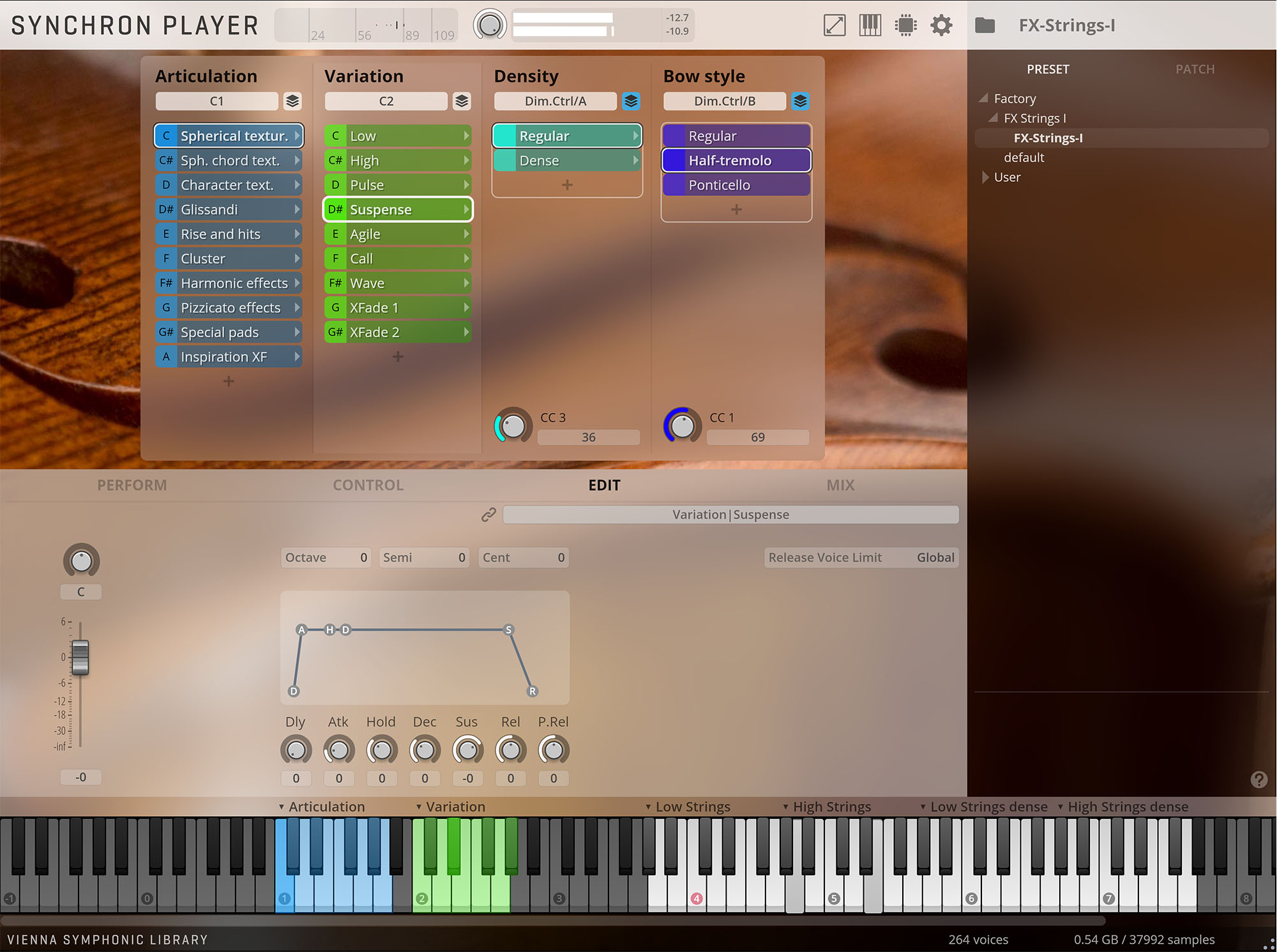 Synchron Player free rompler by Vienna Symphonic Library (VSL)