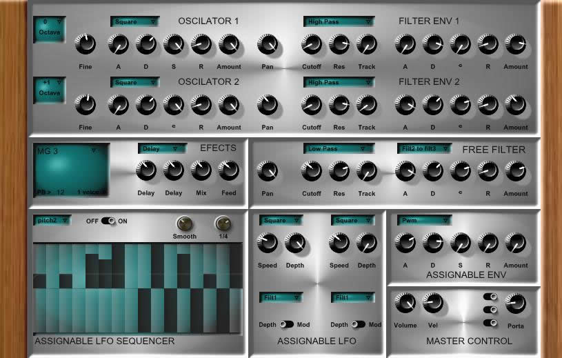 Synthemor free software-synthesizer by mickygemma