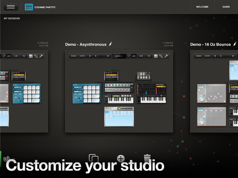 Tabletop free host | mixer by Retronyms