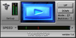 Tapestop free pitch-shifter by TbT