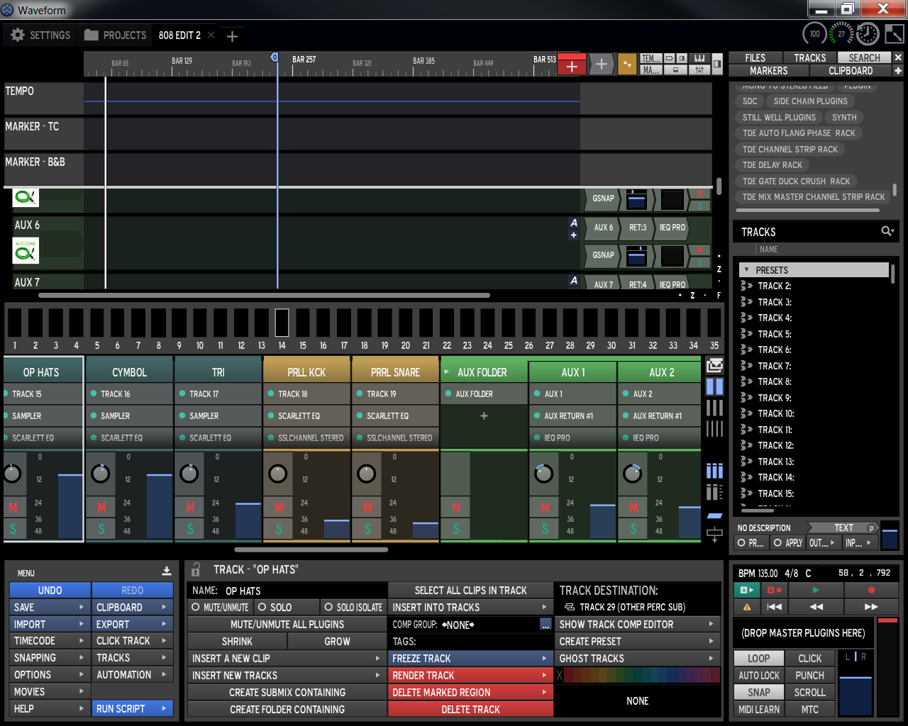 Tracktion Software Text Plugin Suite free soundbank by Lay-It Productions