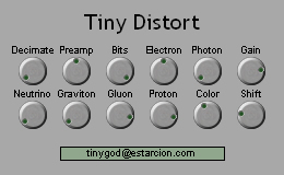 Tiny Distort free overdrive | saturation by Tiny God