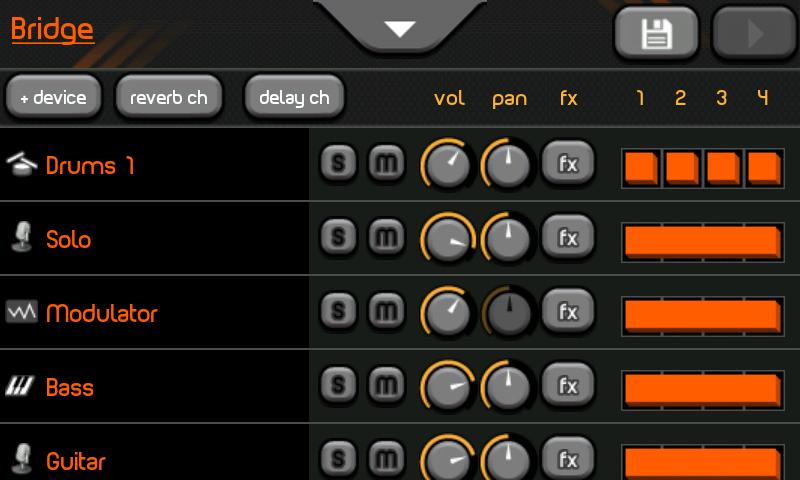 Uloops Studio (Lite and Pro) free sequencer | mixer by Uloops Labs