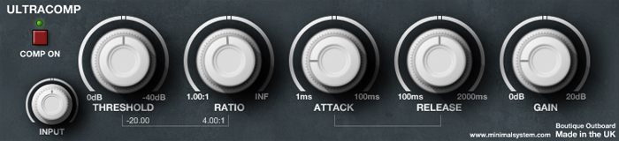 UltraComp free compressor by Studio Toolz