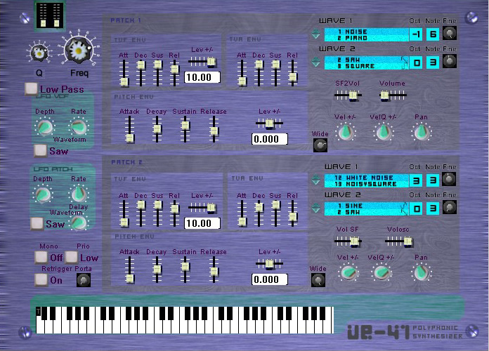 VE41 free software-synthesizer by K.o.m.p.