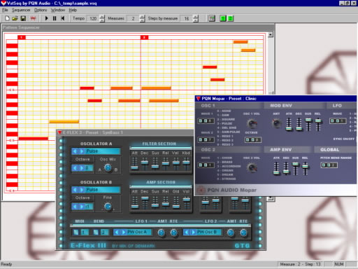 VstSeq free sequencer by PQN Audio