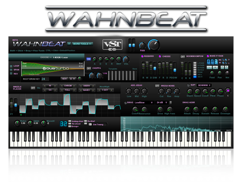 WAHNbeat free rompler by DUBturbo