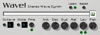 Wave! free software-synthesizer by Sonic Assault