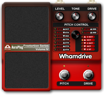 Whamdrive free overdrive | saturation by audiorammer