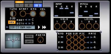 Zamp free drum-sampler by Les Productions Zvon