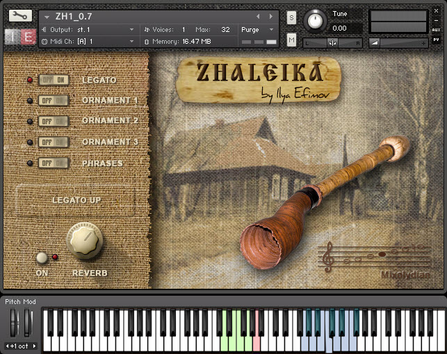 Zhaleika free soundbank by Ilya Efimov Production