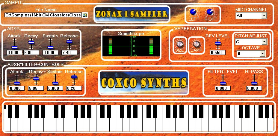 ZONAX 1 WS free sampler by Coxco