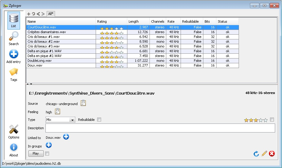 Zploger for Audio free file-manager by Parking B